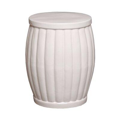Garden Stool Color: White