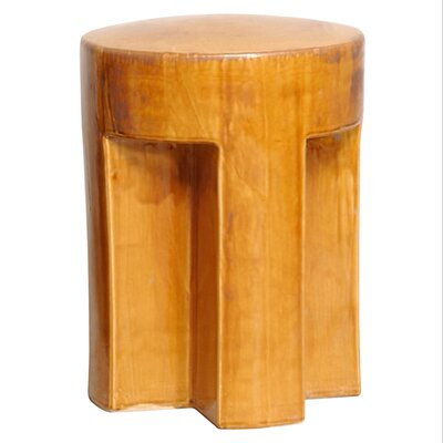 Accent Stool Finish: Amber