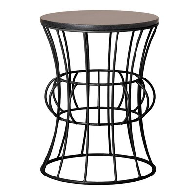 Greenough Metal Accent Stool
