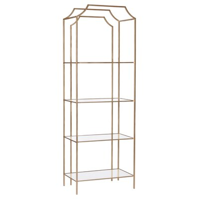 Gadd Metal Bookcase