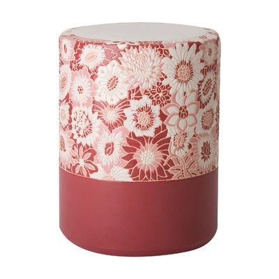 Erhart Garden Stool Color: Marsala Glaze