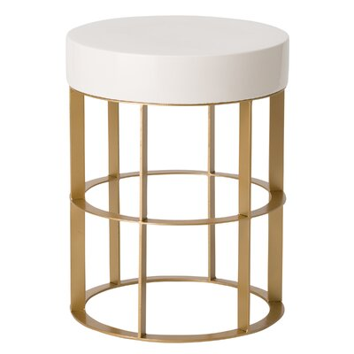 Hemington Metal Accent Stool