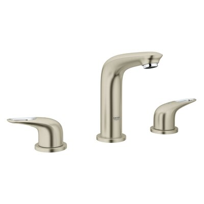 Eurostyle Bathroom Sink Faucet Finish: Brushed Nickel Infinity