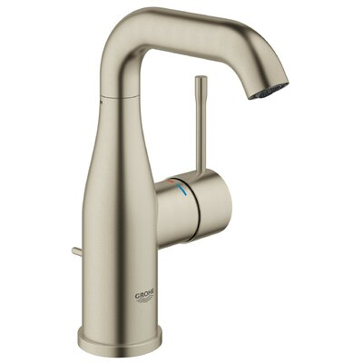 Essence Single Hole Bathroom Sink Faucet Finish: Brushed Nickel Infinity