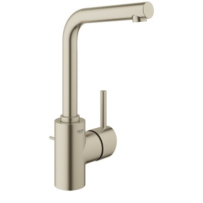 Concetto Single Hole Bathroom Faucet Finish: Brushed Nickel
