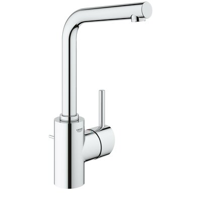 Concetto Single Hole Bathroom Faucet Finish: StarLight Chrome