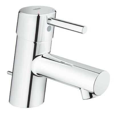 Concetto Single Hole Bathroom Faucet with Drain Assembly Finish: StarLight Chrome