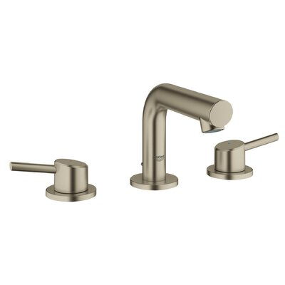 Concetto Mid-Arc Widespread Bathroom Faucet Finish: Brushed Nickel