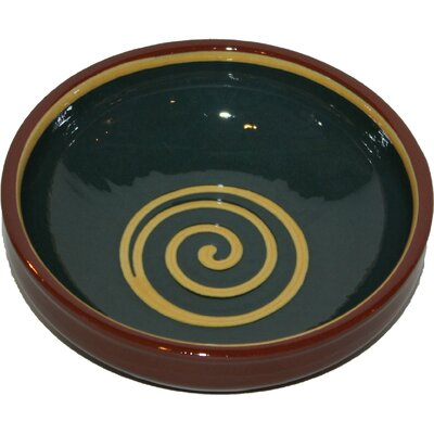 Cookware Essentials Terracotta Pudding Bowl in Green / Yellow