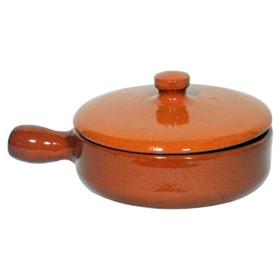 Cookware Essentials Terracotta Dish with Lid