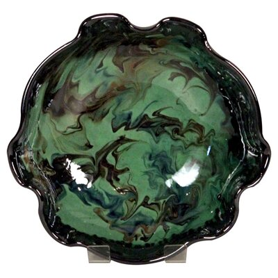 Cookware Essentials Fluted Splashy Bowl in Green