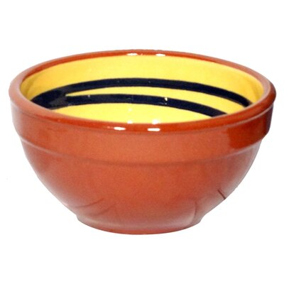Cookware Essentials Terracotta Pudding Bowl in Yellow / Green