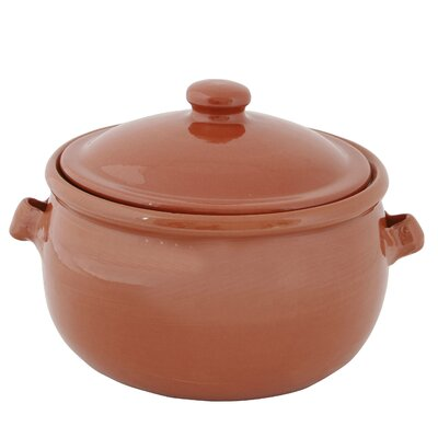 Cookware Essentials Terracotta Pottery Baking Dish with Lid