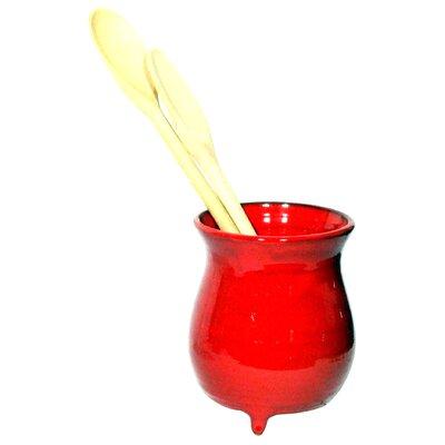 Cookware Essentials Terracotta Utensil Holder in Red