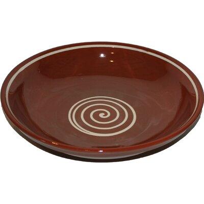 Cookware Essentials Terracotta Pudding Bowl in Brown / Cream