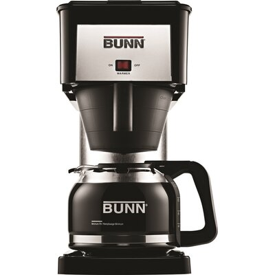 10 Cup Coffee Maker Finish: Black