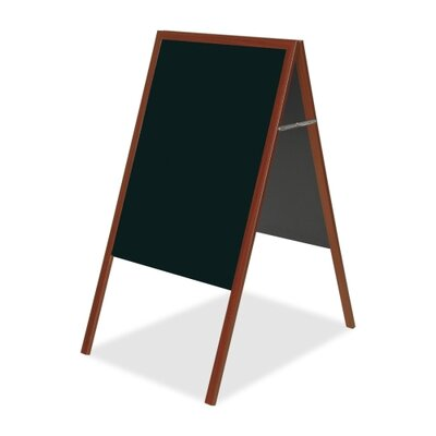Bi-silque Visual Communication Product, Inc. Mastervision Magnetic Chalkboard, 3' H x 2' W