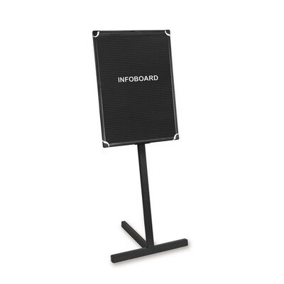 Bi-silque Visual Communication Product, Inc. Free-Standing Letter Board, 2' H x 3' W