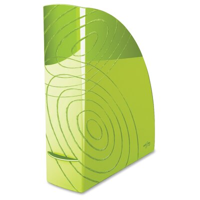 Polystyrene Magazine Rack Color: Green