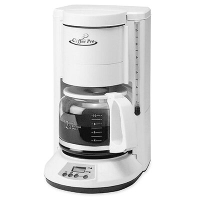 CoffeePro 12 Cup Automatic Coffee Maker