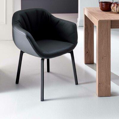 Nolan Swivel Armchair Upholstery: Light Gray