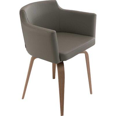 Robert Swivel Armchair Upholstery: Light Gray