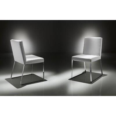 Lisa Upholstered Dining Chair Upholstery: 117 (dark gray)