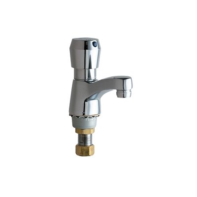 Chicago Faucets Single Hole Bathroom Sink Faucet with Single Pump Handle
