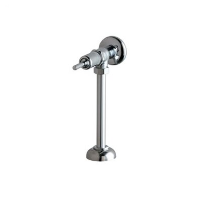 Chicago Faucets 732 NAIAD Self-Closing Exposed Urinal Flush Valve with Oscillating Lever Handle in Chrome