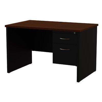 Desk Finish: Black/Walnut
