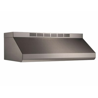 "42"" 600 CFM Ducted Under Cabinet Range Hood"