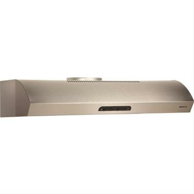 "30"" Evolution 300 CFM Convertible Under Cabinet Range Hood Finish: Stainless Steel"