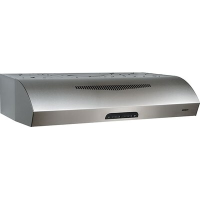 "36"" 350 CFM Ductless Under Cabinet Range Hood Finish: Stainless Steel"