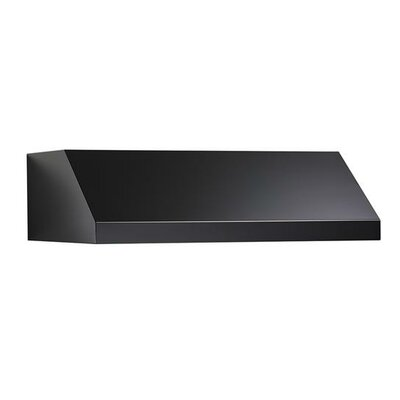 "36"" 440 CFM Ductless Under Cabinet Range Hood Finish: Black"