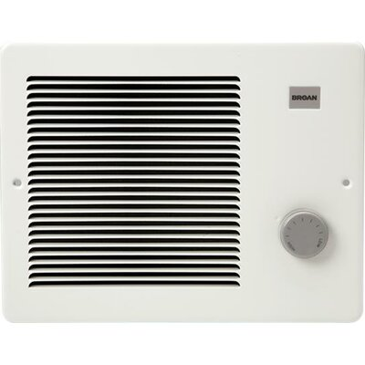 Electric Fan Wall Mounted Heater Power: 2000 W / 240 V / 8.3 Amps