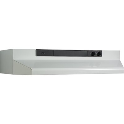 "36"" 220 CFM Convertible Under Cabinet Range Hood Finish: White"