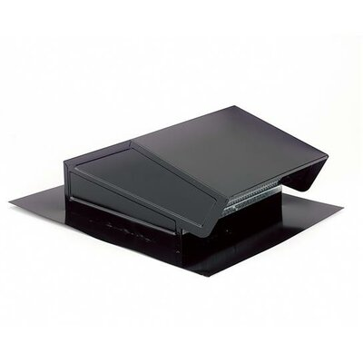 Range Hood Roof Cap Finish: Black