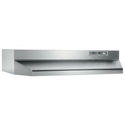 "30"" 160 CFM Ducted Under Cabinet Range Hood Finish: Stainless Steel"