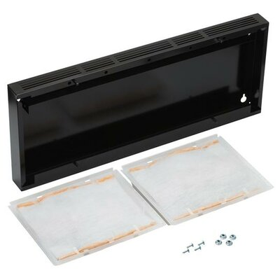"Range Hood 30"" Non-Duct Kit Finish: Black"