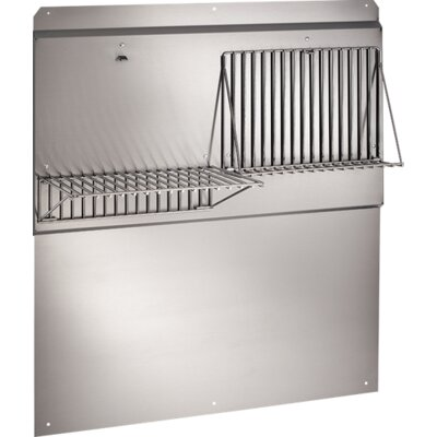 "LLC Series Range Hood Backsplash Size: 34.75"" H x 36"" W x 18"" D"