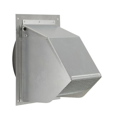"Universal Range Hood 9.37"" Wall Cap"