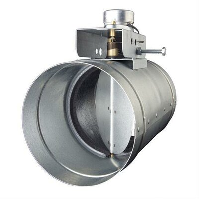Universal Range Hood Make-Up Air Slave Damper