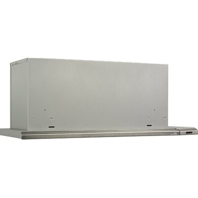"36"" 1050 CFM Ducted Wall Mount Range Hood Finish: Brushed"