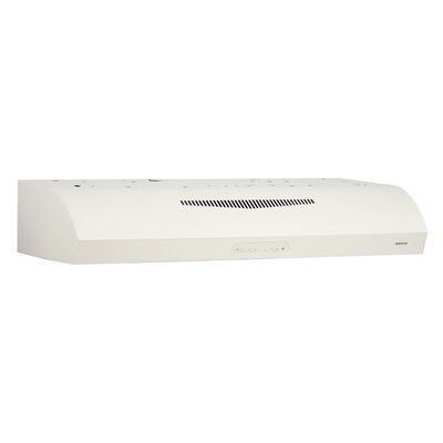 "36"" 350 CFM Ductless Under Cabinet Range Hood Finish: Bisque"