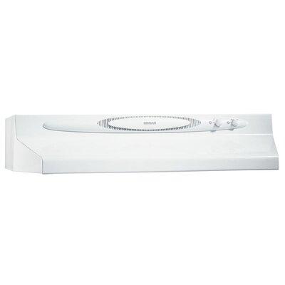 "30"" 220 CFM Convertible Under Cabinet Range Hood Finish: White"