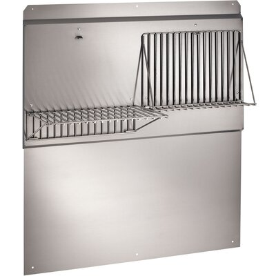 "LLC Series Range Hood Backsplash Size: 34.75"" H x 30"" W x 18"" D"