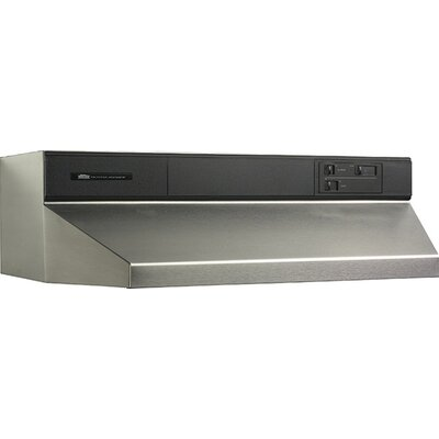 """30"""" 460 CFM Ducted Under Cabinet Range Hood Finish: Stainless Steel"""