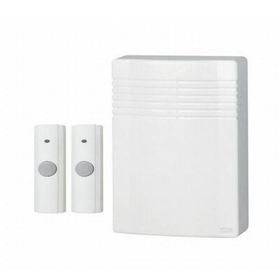 Wireless Door Chime Kit with 2 Pushbuttons