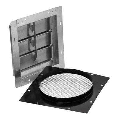 Wall Cap for Range Hoods and Bath Ventilation Fans