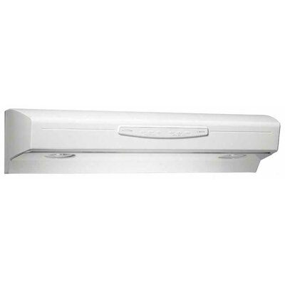 "30"" 300 CFM Convertible Under Cabinet Range Hood Finish: Bisque"